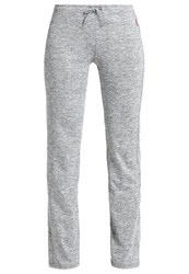 Venice Beach Jazzy Tracksuit Bottoms Coal Black Melange Grey