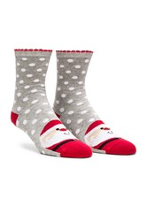 Pretty Polly Santa Sock Gray