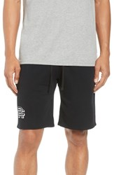 Reigning Champ Shorts Lightweight Classic Fit Knit Shorts Black