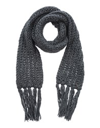 Loiza By Patrizia Pepe Accessories Oblong Scarves Women Black