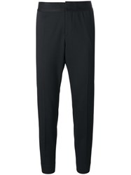 Dsquared2 Embroidered Waistband Trousers Black