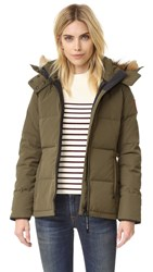 Canada Goose Chelsea Parka Military Green
