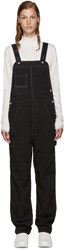 And Wander Black Outlasta Cotton Overalls
