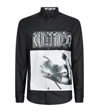 Mcq By Alexander Mcqueen Hand Graphic Shirt Male Black