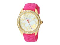 Betsey Johnson Bj00048 200 Crystal Bezel Rose Gold Pink Watches