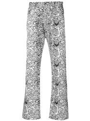 Dolce And Gabbana Vintage Printed Trousers Black
