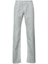 Ag Jeans Graduate Fit Men Cotton 29 Grey