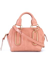See By Chloe Small 'Paige' Tote Pink And Purple