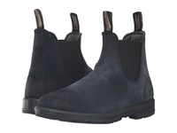 Blundstone Bl1462 Indigo Blue Suede Pull On Boots Navy