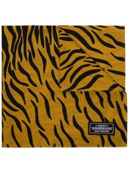 Neighborhood Tiger Stripe Print Scarf 60