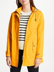 John Lewis Hooded Raincoat Yellow