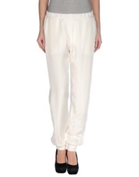 Jet Set Casual Pants Ivory