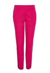 Hallhuber Side Vent Trousers Charlotte Pink