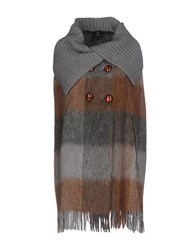 Cristinaeffe Coats Light Grey