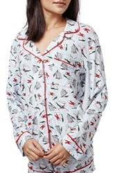 Women's Topshop 'Skiing Squirrel' Pajamas