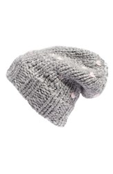 Rebecca Minkoff Women's Heart Stitch Slouchy Knit Beanie
