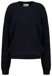 Just Female Jumper Blue Stone