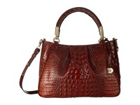 Brahmin Ruby Pecan Handbags Brown