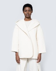 Lauren Manoogian Kendo Coat In Bone