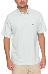 Quiksilver Waterman Collection Water 2 Technical Polo Shirt Misty Blue