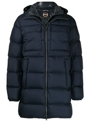 Colmar Padded Hooded Jacket Blue