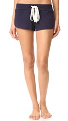 Eberjey Heather Pj Shorts Deep Sea