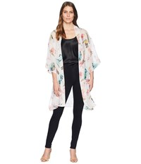 Collection Xiix Birds Of A Feather Kimono White Clothing