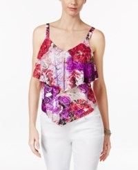 Inc International Concepts Tiered Lace Tank Top Only At Macy's Rose Shower