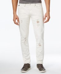 Guess Men's Slim Fit Jeans White