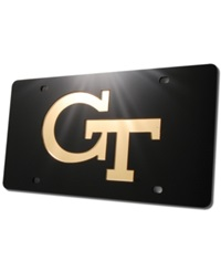 Stockdale Georgia Tech Yellow Jackets License Plate Black
