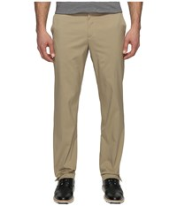 Nike Flat Front Pants Khaki Khaki Men's Casual Pants