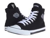 Harley Davidson Flora Black 1 Women's Lace Up Casual Shoes