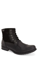 Joe's Jeans Men's Joe's 'Twist' Cap Toe Boot Black