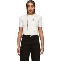 Ami Alexandre Mattiussi Off White Fitted T Shirt