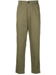 Bassike Reconstructed Chino Green