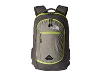 The North Face Pivoter Backpack London Fog Heather Chive Green Backpack Bags Black