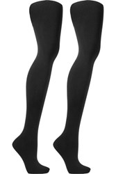 Ballet Beautiful Set Of Two Tights Black