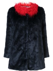 Shrimps 'Pepe' Coat Red