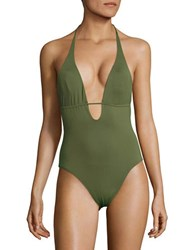 L Space Pamela One Piece Swimsuit Jungle