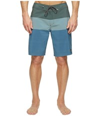 Quiksilver Highline Blocked Vee 20 Boardshorts Four Leaf Men's Swimwear Gold