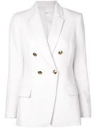 A.L.C. Double Breasted Blazer White
