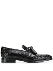 Jimmy Choo Foxley Loafers Black