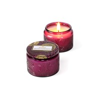 Voluspa Japonica Limited Edition Glass Candle Santiago Huckleberry Small