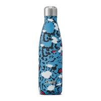 S'well Bottle The Exotics Azure Leopard 0.5L