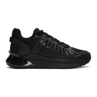 Balmain Black B Trail Sneakers