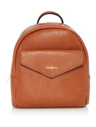 Ollie And Nic Eddy Mini Backpack Tan