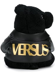 Versus Bear Shaped Backpack Black