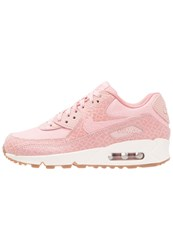 Nike Sportswear Air Max 90 Prm Trainers Pearl Pink Sail Pink Glaze Med Brown Nude