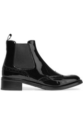 Church's Estella Patent Leather Chelsea Boots Black