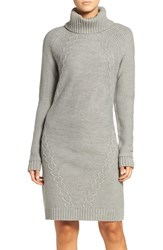 Eliza J Women's Cable Knit Sweater Dress
